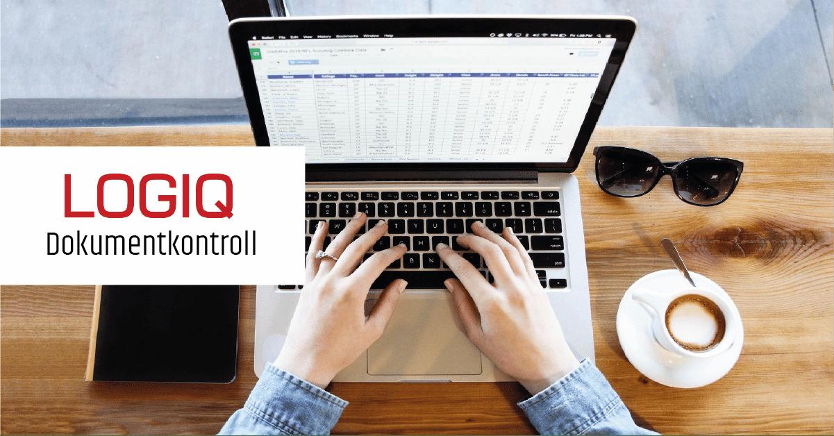 Spara tid med mindre manuell korrigering- Dokumentkontroll från Logiq